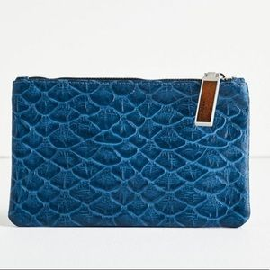 NWT Lucky Brand Maiori Leather Clutch Bag
